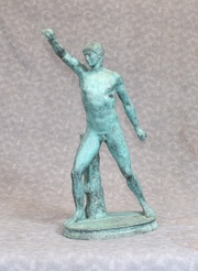 Greek Athlete Bronze Statue - Classical Sculpture Casting