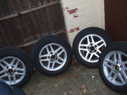 BMW 3 SERIES 15 INCH ALLOY WHEELS-SET OF 4